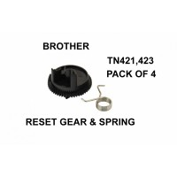 Brother TN421,TN423 Reset Gear And Spring Pack Of Four