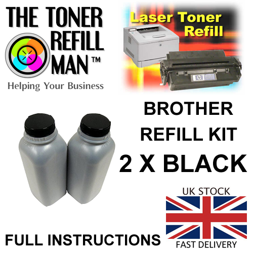 Toner Refill Kit For Use In The Brother TN-2420, TN-2410 Laser Printer Cartridge