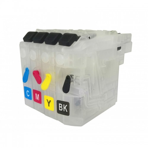 Brother LC123 refillable ink cartridges